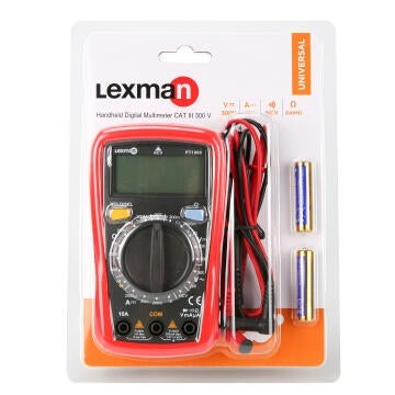 MULTIMETER DIGITAL LEXMAN