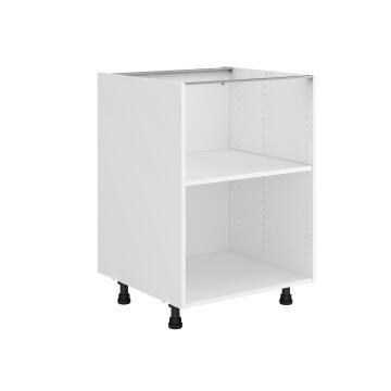 Kitchen cabinet Delinia bottom white 58cmx60cmx76.8cm