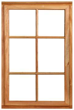 Window side hung wood WC1SPl 1O 56x584x887mm
