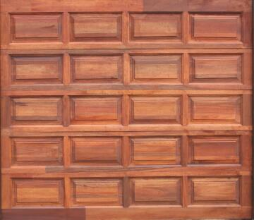 G.DOOR WOOD SEC MER 20 PANELS STD