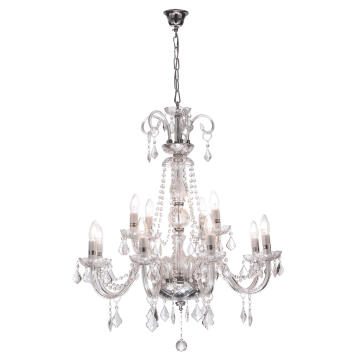 CHANDELIER CH3050/12 CRYSTAL