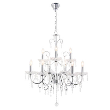 CHANDELIER CH388/9 CHROME