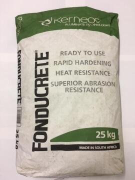 Heat Resistant Concrete Mix 25KG fonducrete KERNEOS