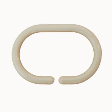 shower ring plastic SENSEA amber 12 pieces