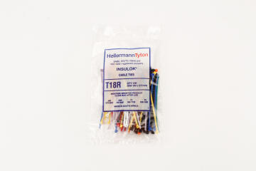 Cable tie 100x2.5mm HELLERMANNTYTON multiple colors x100