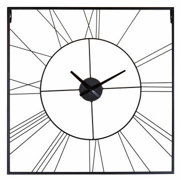 CLOCK SQUARE WIRED 60X60CM