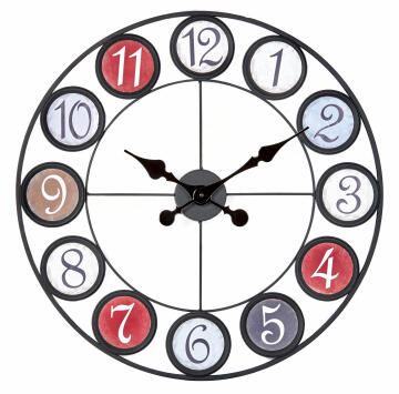 CLOCK FACTORY COLOR 60CM