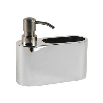 POLY SOAP DISPENSER WITH ABS PUMP MATTE