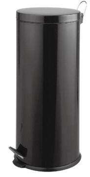 30L DUST BIN - BLACK MATT