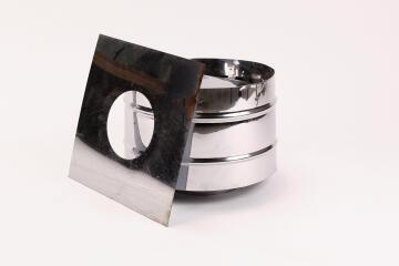 Flue kit MEGAMASTER stainless steel 125mm