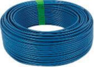 House wire 1.5mm blue by meter