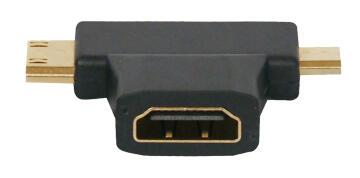 HDMI cable Female / micro & mini HDMI