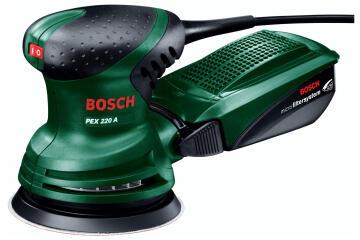 Eccentric sander BOSCH PEX 220A 220W