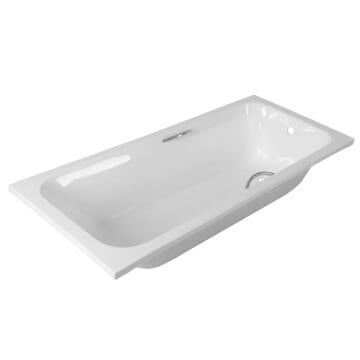 Bathtub rectangular acrylic TAMARIN white 70X170X40CM