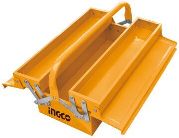 TOOLBOX INGCO 370X120X163MM 2 LAYERS