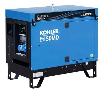 Generator sdmo diesel 6000 e silen 5200w leroy merlin for Leroy merlin generatore