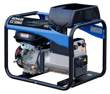 Generator SDMO WELDARC 200 for welding
