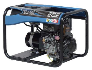 Generator SDMO Diesel 4000 E XL C 3.4KW