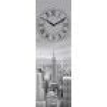 GLASS CLOCK NEW YORK TIME 20X60