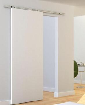 Sliding system for wood door max 30kg 930mm