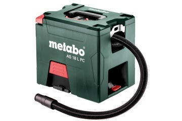 Vacuum Cleaner Cordless Metabo As 18 L Pc 18V Bare