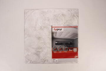 CEILING TILE PS SILVER 2SQM 50X50CM