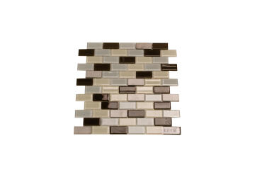 Mosaic Glass Montaque Brick 32.5X30Cm