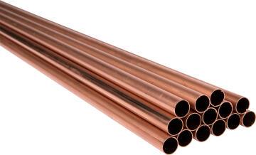 Copper pipe 15mm x 5.5m class 0 SABS
