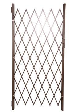 Security Gate 84.0cm x 200.0cm Saftidor with Slamlock Bronze