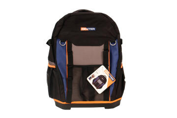TOOL BACKPACK WITH RIGID BOTTOM DEXTER