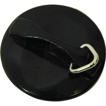 Rubber plug 32mm black