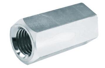 4 CONNECTN NUT M8X30 ZNC PLTD (EDGE)