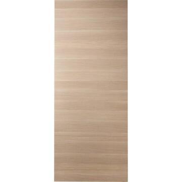 Interior Sliding Door (door only) MDF Hollow Core Madrid XXL Clear Oak-w930xh2240mm