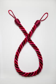 ROPE TIEBACK RED/FUSCHIA