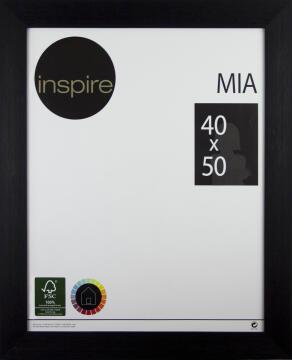 FRAME INSPIRE MIA BLACK 40X50CM