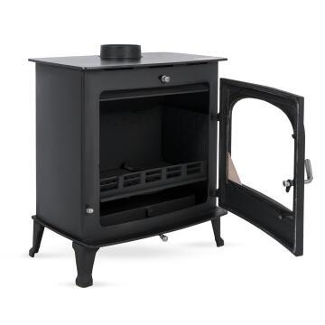 Fireplace MEGAMASTER corvo cast iron