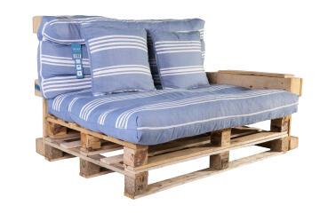 CUSHION PALLET (DECOUT) BLUE