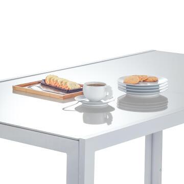 NATERIAL LYRA TABLE ALU L.GREY 160X90