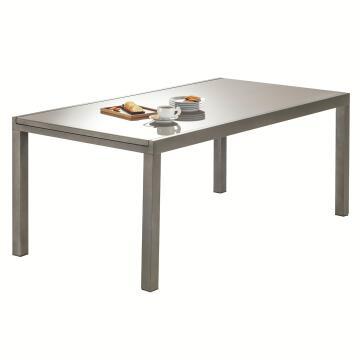 NATERIAL LYRA TABLE ALU BWN 180/260