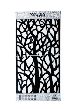 DECOR SCREEN WOODLAND 1800X900 CHARC