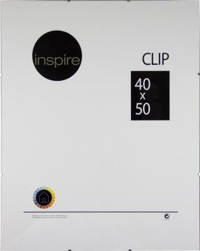 CLIP FRAME INSPIRE 40X50CM
