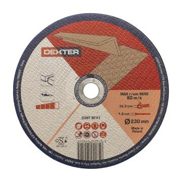 Cutting disc DEXTER aluminium 230x1,9x22,2mm