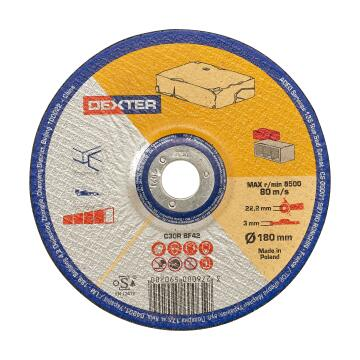 Cutting disc DEXTER cutting stone 180x3x22,2mm
