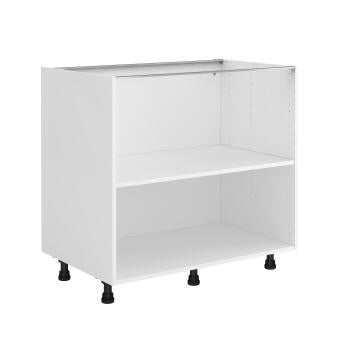 Kitchen cabinet Delinia bottom white 58cmx90cmx76.8cm
