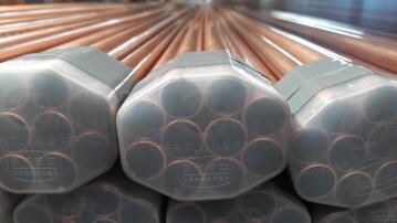 Copper pipe 4m x 15mm class 0