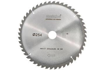 Circular saw blade METABO HW/CT 254X30 48 WZ 5