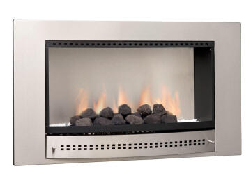 Gas fireplace CHAD O CHEF picture plain back