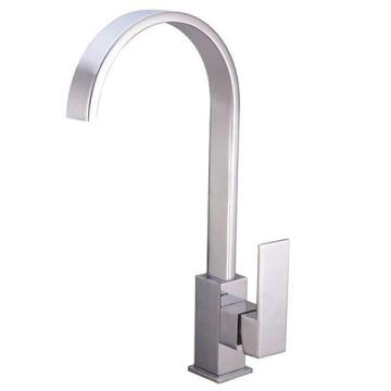Kitchen tap lever mixer Macniel tanzanite deck type chrome