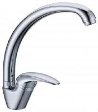 Kitchen tap lever mixer Macniel ruby p type chrome