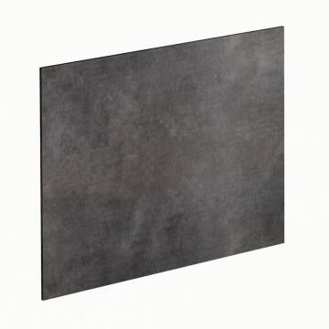Kitchen splash back laminate Old Metal Effect L3000 cm x W640cm x T8cm
